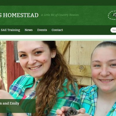 Mottern's Homestead Website